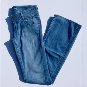 {Hudson} Lightwash Bootcut Jeans